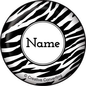Zebra Animal Print Personalized Mini Magnet (Each)