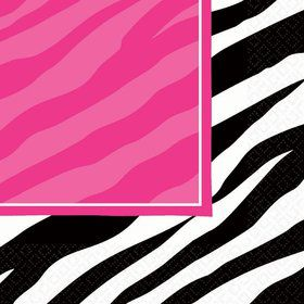 Zebra Party Napkins