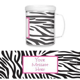 Zebra Party Personalized Favor Mugs (Each)