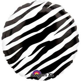 Zebra Print Balloon (each)