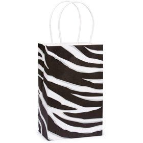 Zebra Stripe Favor Bag