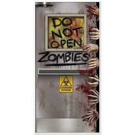 Zombie Lab Door Cover