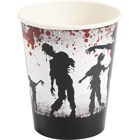 Zombie Party 9oz Cups (8 Pack)