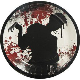 Zombie Party Cake Plates (8 Pack)