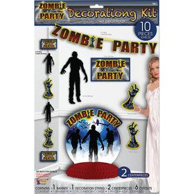 Zombie Party Decoration Set