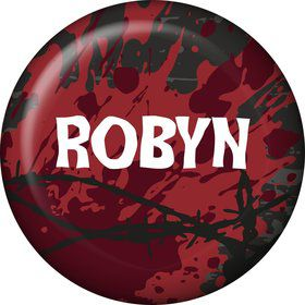 Zombie Personalized Mini Button (Each)