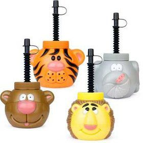 Zoo Animal Sipper Cup (each)