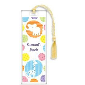 Zoo Babies Party Personalized Bookmark (each)