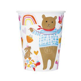 Zoo Baby Shower 9oz Paper Cup (8)