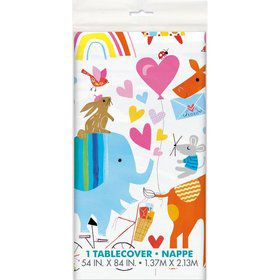 Zoo Baby Shower Tablecover