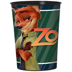 Zootopia 16oz Plastic Favor Cup (Each)