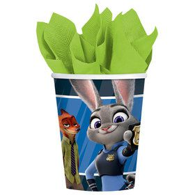 Zootopia 9oz Cups (8 Count)
