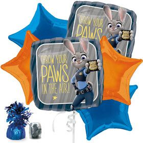 Zootopia Balloon Bouquet Kit