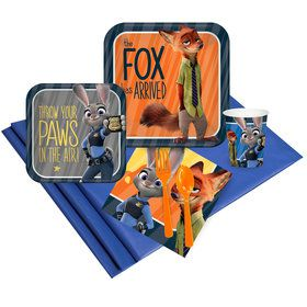 Zootopia Party Pack
