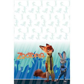 Zootopia Plastic Table Cover (Each)